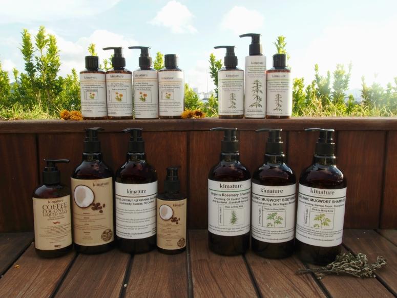 01a Kimature 以本地農產及中草藥配方研發不同的產品系列。