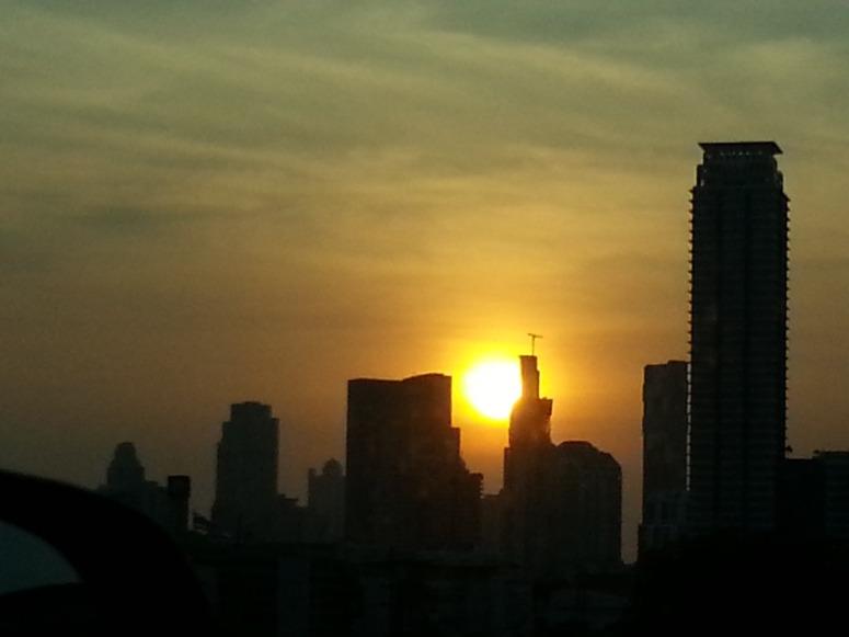 2015 四月,攝於尼克出走的地方──泰國 曼谷