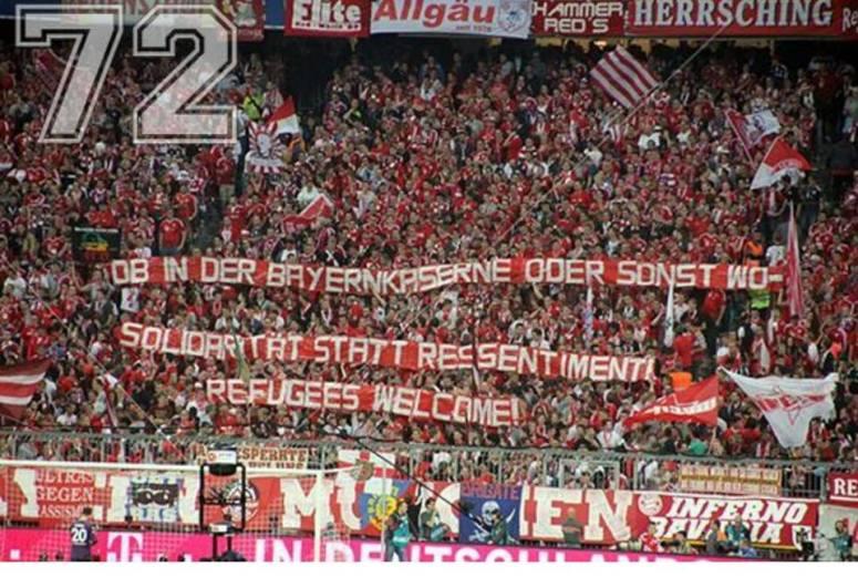 圖為拜仁慕尼黑球迷。