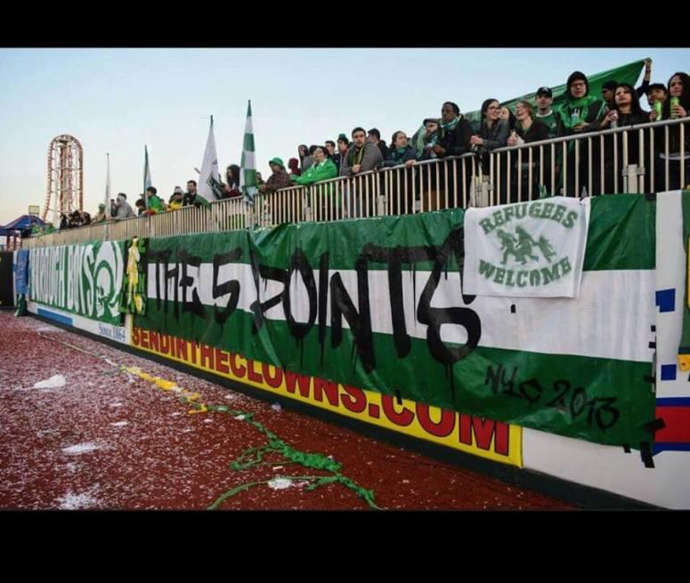 塞浦路斯 AC Omonia 的 Ultras 球迷組織 Gate-9。