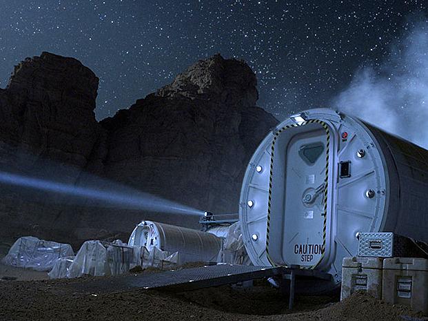 《火星任務》中的太空之家