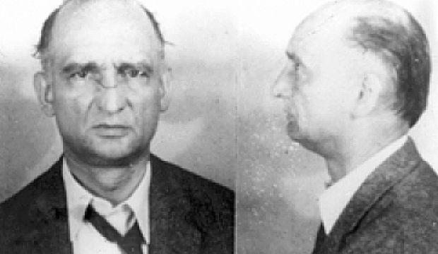 Rudolf Abel 被 FBI 拘捕後所攝