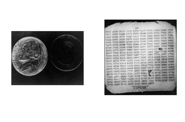 藏有微縮膠片的空心硬幣,成為 Rudolf Abel 的罪證之一。