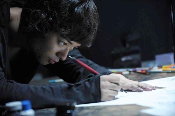 《寄生獸》染谷將太演技出色,是全片最搶境的人物。