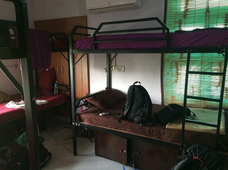 6 人房,由於八月是旅遊淡季,有一晚是旅生一人獨霸一房 XDD