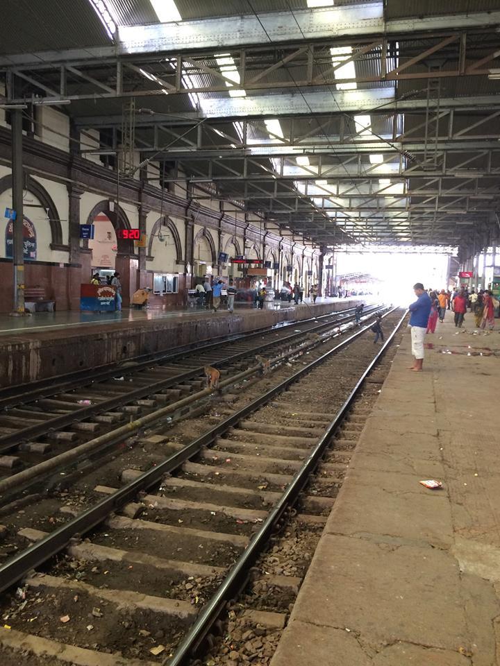 印度的火車軌